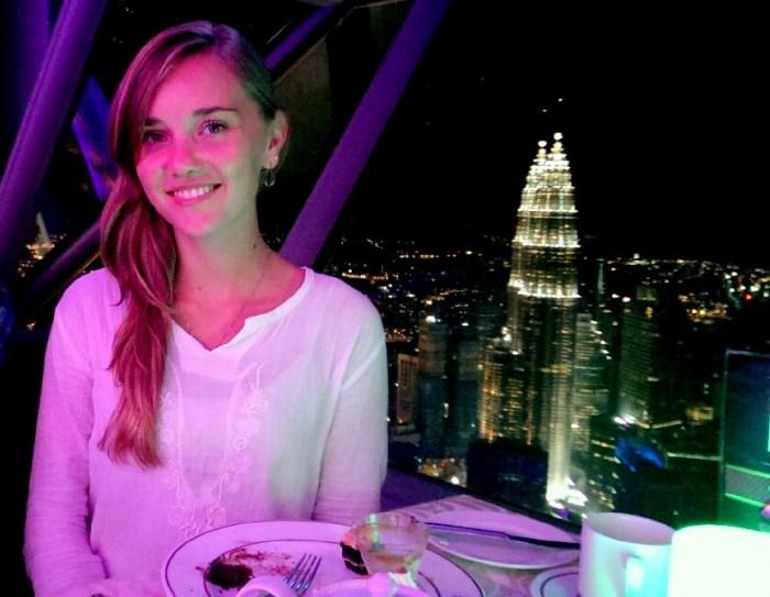 Atmostphere 360 revolving restaurant at Kuala Lumpur Tower, Malaysia