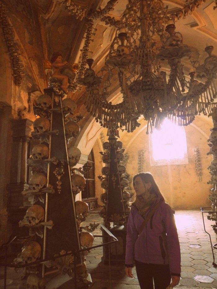 The Bone Church of Kutna Hora, Czech Republic