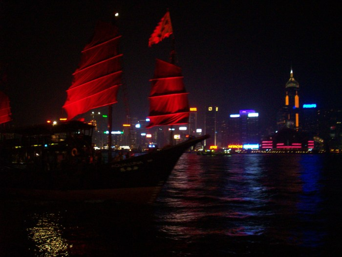 Hong Kong Harbor