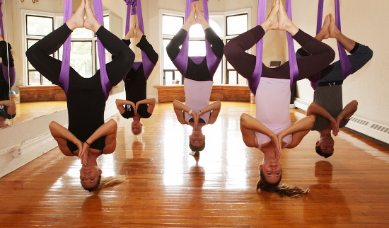 Fitness Trends - Aerial Yoga