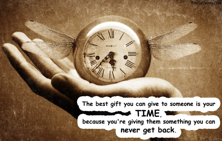 Life hack - gift ideas - give time