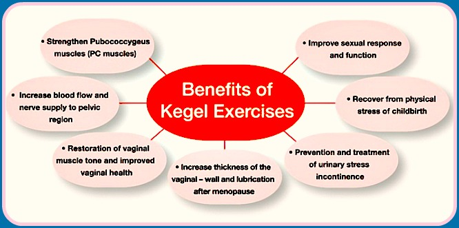 Kegel Exercises - Benefits