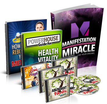 Law Of Attraction - Get Your Manifestation Miracle Package With Bonus