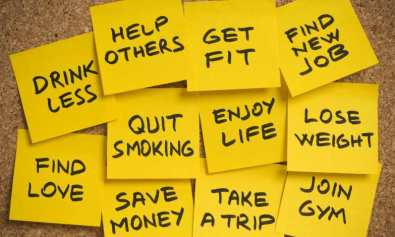 New Year's Resolutions Ideas To Choose From