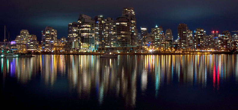 Vancouver at Night (CC BY ND / popejon2)