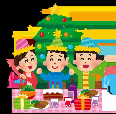 クリスマスパーティー イメージ