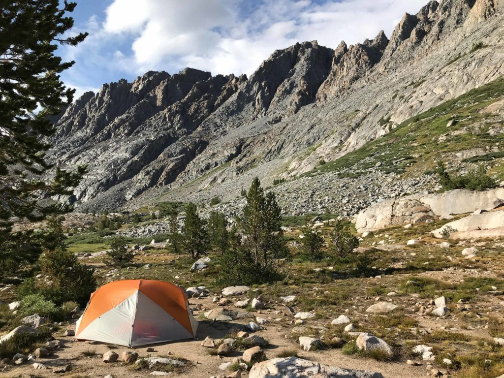 An ideal end to a not-so-perfect day at Evolution Lake...Storms cut our hike short on July 31st, 2018, but the sun finally came out, and it was breath-taking.