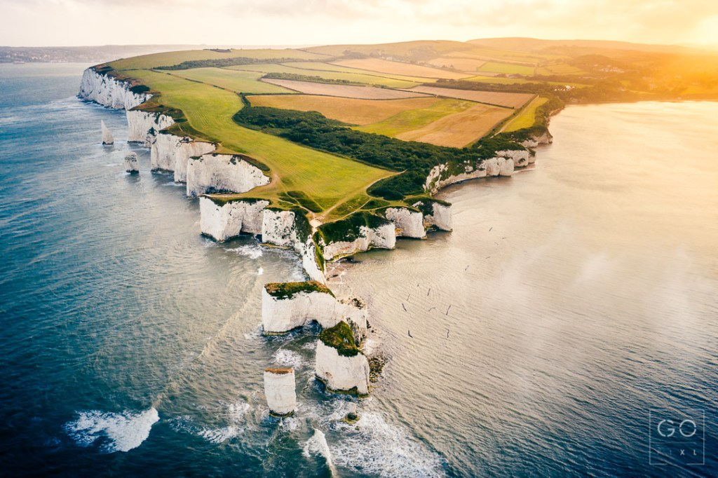 Sunset at Old Harry Rocks