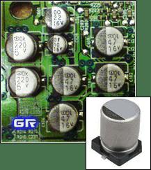Электролитические SMD конденсаторы