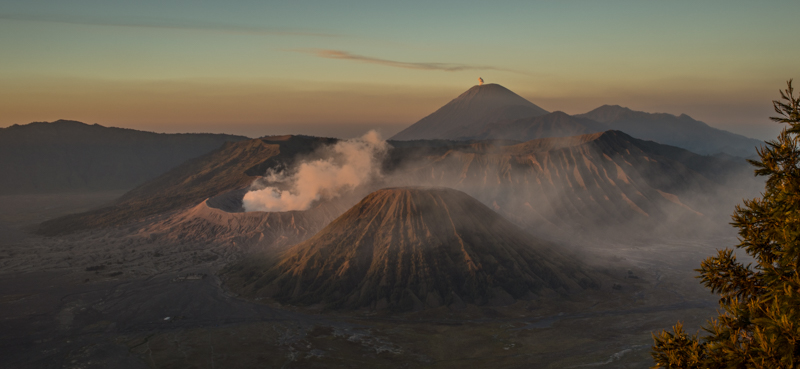 The Sunrise View of Mount Bromo
