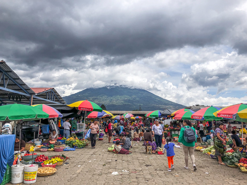 A stroll through the market