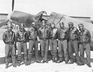Tuskegee Airmen Circa May 1942 to Aug 1943