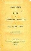 Narrative of the Life of Frederick Douglass book cover