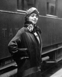 Lillian Evanti in France, 1926