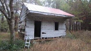 19th Century Slave Cabin, Point of Pines