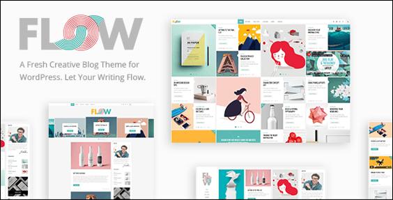 Flow wordpress theme