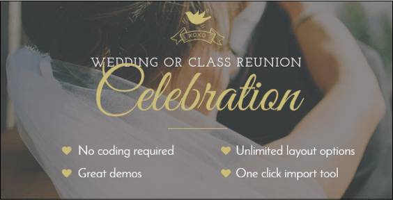 Celebration wordpress theme
