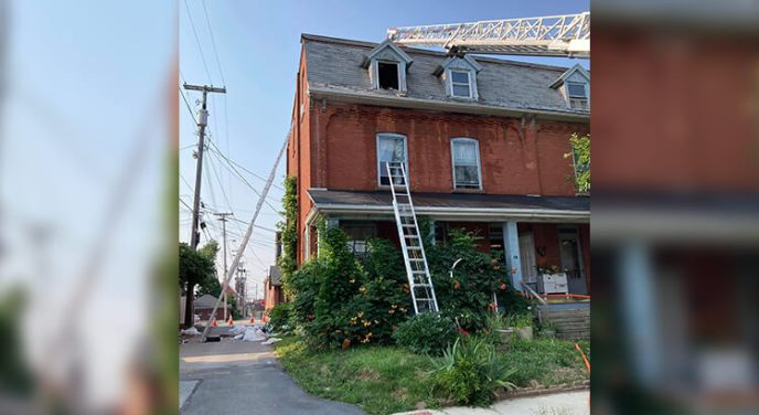 Local Tiffin Fire Rescue investigating residential fire; criminal activity may be involved