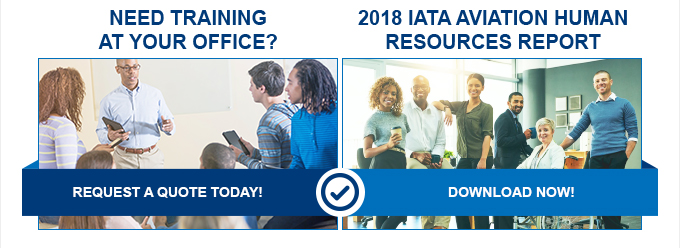 NEED TRAINING AT YOUR OFFICE? - 2018 IATA Aviation Human Ressources Report