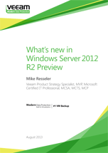 What's new in Windows Server 2012 R2 Preview