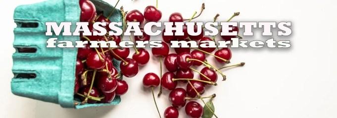 Massachusetts Farmers Markets - Sour Cherries