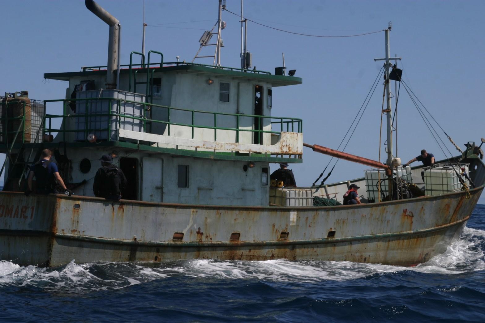 Drug Trafficking Smuggling Boat Cocaine