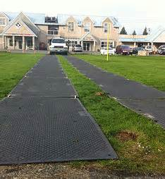 Portable 4-foot by 8-foot Roadway Mat Rental - Effingham Builders Supply Rental Center