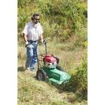 Rent a brush mower for your bigger landscaping projects