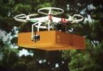 Drónos csomagszállítás