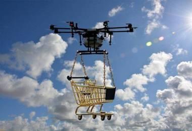 drónos házhozszállítás
