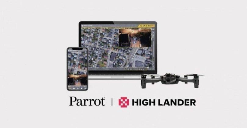 Highlander Parrot együttműködés