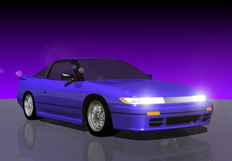 Initial D World Pictures Gallery Nissan Sil Eighty Rps13