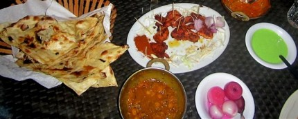 yummy curries, kebabs, and chicken suya