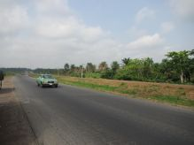 the highway is in decent condition