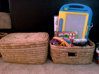 with or without covers they are excellent for storing toys, board games, activity books