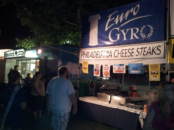 Gyro in Spokane also called PHilly Cheese Steak