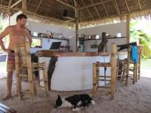 Robert, the manager of Kawili resort in general Luna (GL)