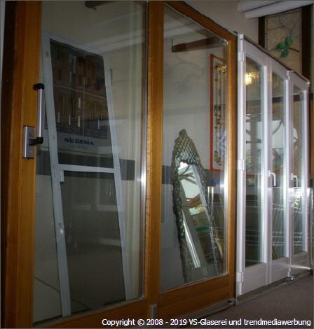 Türen aus Holz, Kunststoff oder Alu