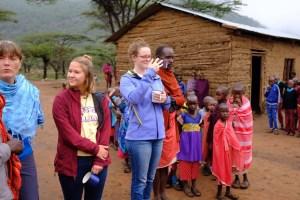 Students in Tanzania