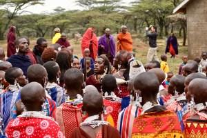 Brethren Foundation Global Partners School Project Masai Tribe Celebration