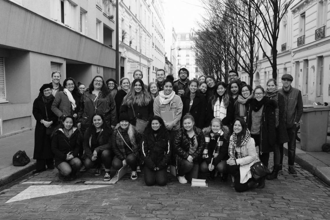 Students in Paris 2018