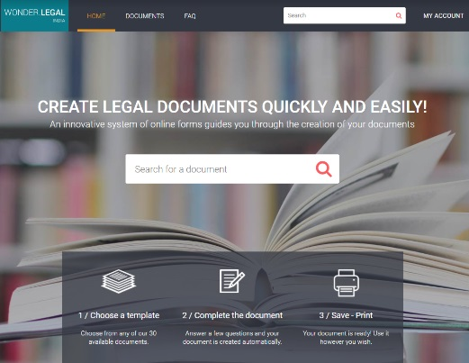 Legal Tech Startup Wonder Legal Launches in India     Goa