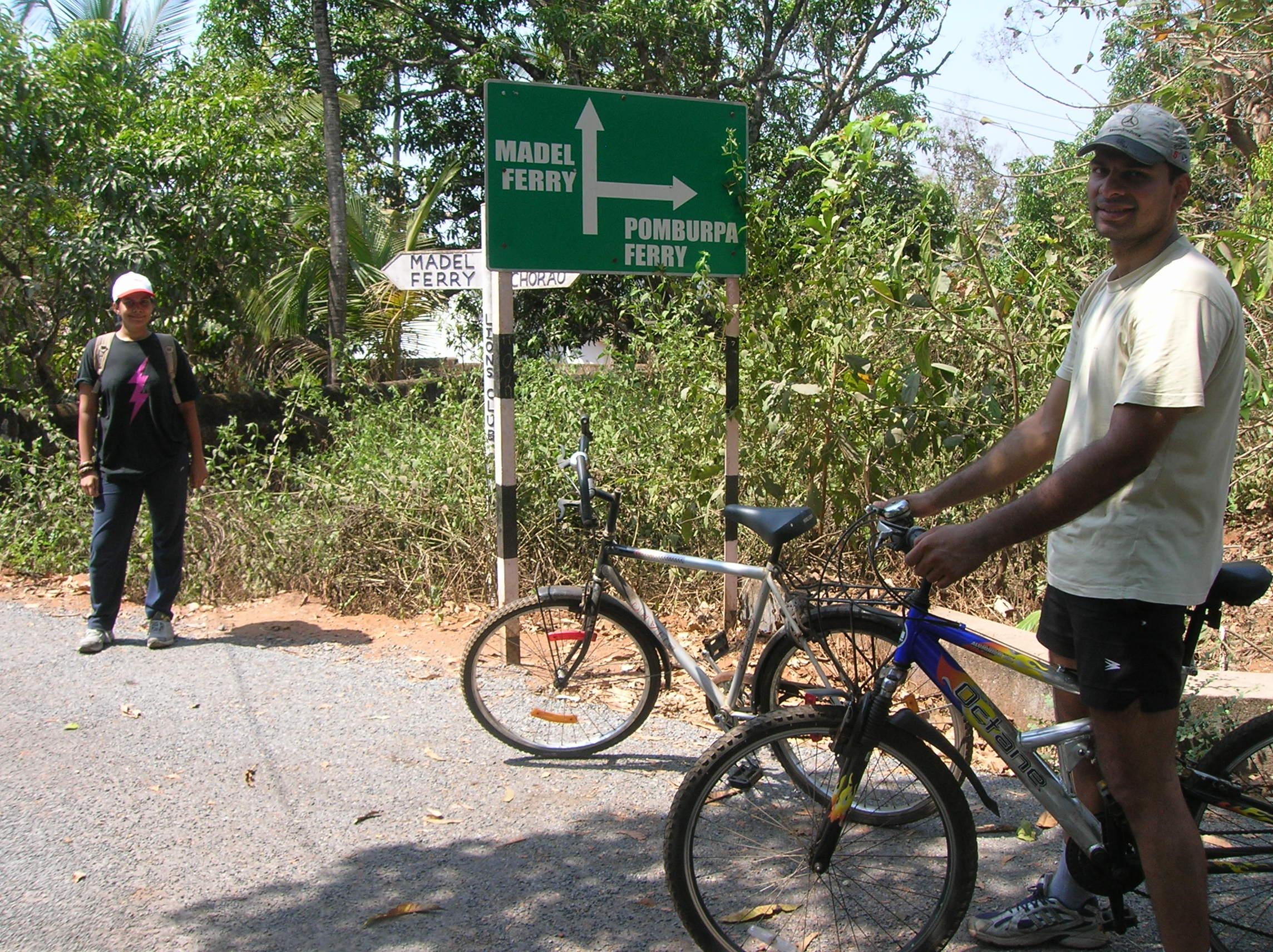 Cycle Chorao Island, Goa