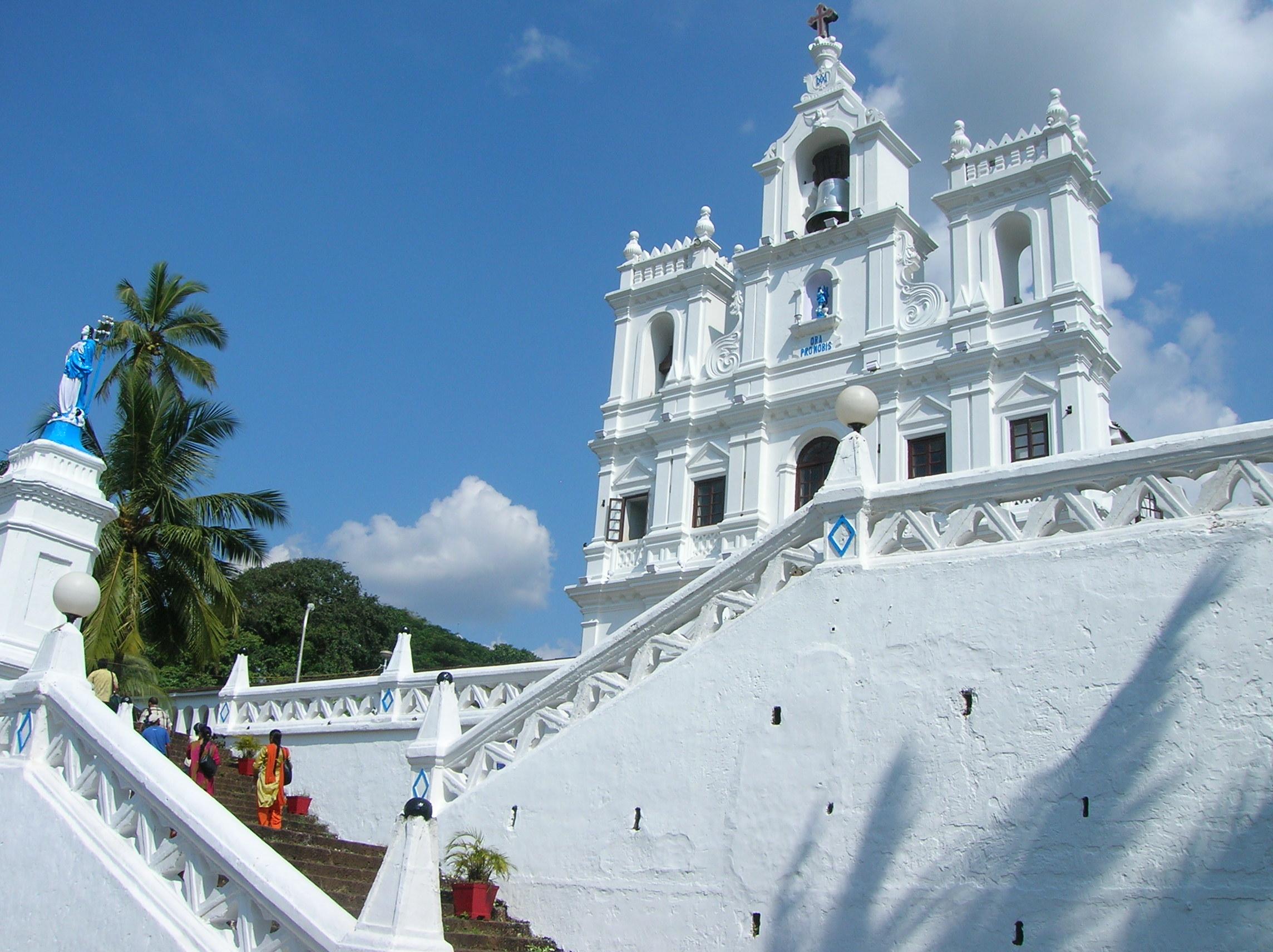 Panjim church, Goa, India (Ulrike Rodrigues)