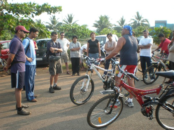 Cycling workshop with Brian Sopher