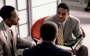 black business faces
