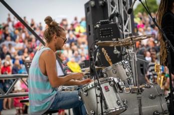 Martin Wallén, trummor Foto: Mattias Sjölund/Foto Magica