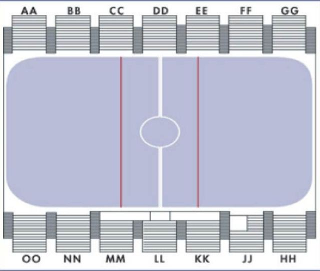 Cadet Ice Arena Seating Chart