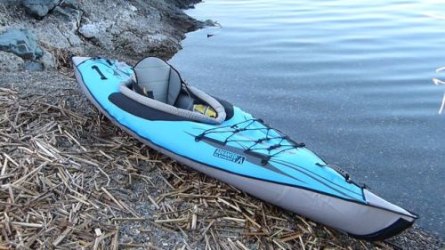 AirKayaks AdvancedFrame DS-XL Series Inflatable Kayak with enclosed design