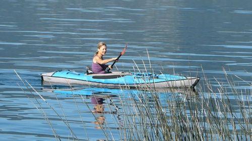 The AdvancedFrame DS Series kayak paddles beautifully
